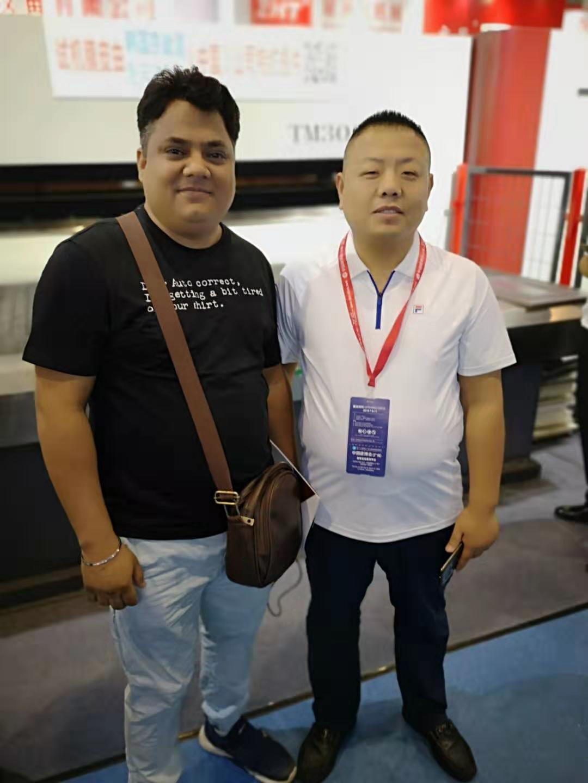 with customer 3